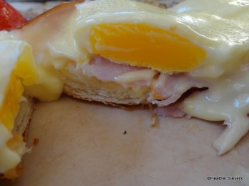 Croissant Benedict Cross Section