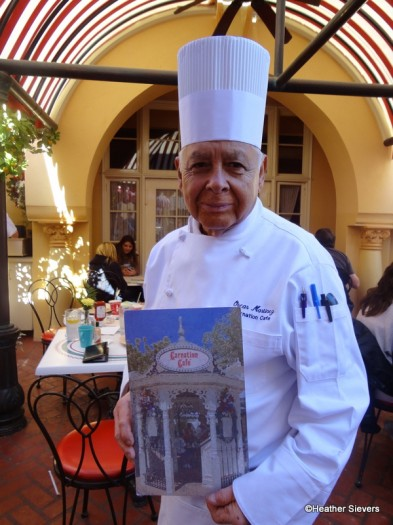 Carnation Cafe's Chef Oscar