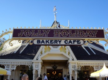Jolly Holiday Entrance Sign