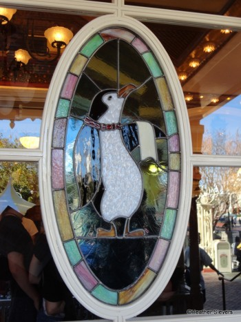 Penguin Stained Glass Window