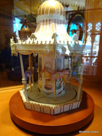 Carousel in the Display Case