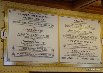 Jolly Holiday Menu Board