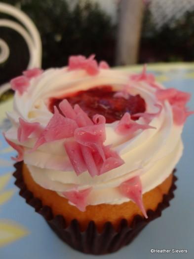 Strawberry Lemon Cupcake