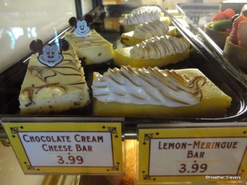 Chocolate Cream Cheese Bar & Lemon Meringue Bar