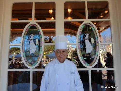 Chef Oscar with his New Penguin Buddies