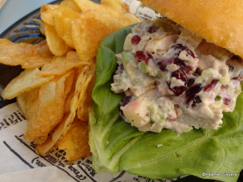Waldorf Chicken Sandwich