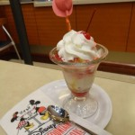 Disney's Soda Fountain Review: The Beauty and The Beast Sundae