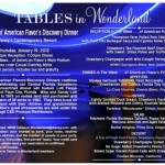 Tables in Wonderland: January 2012 Special Event