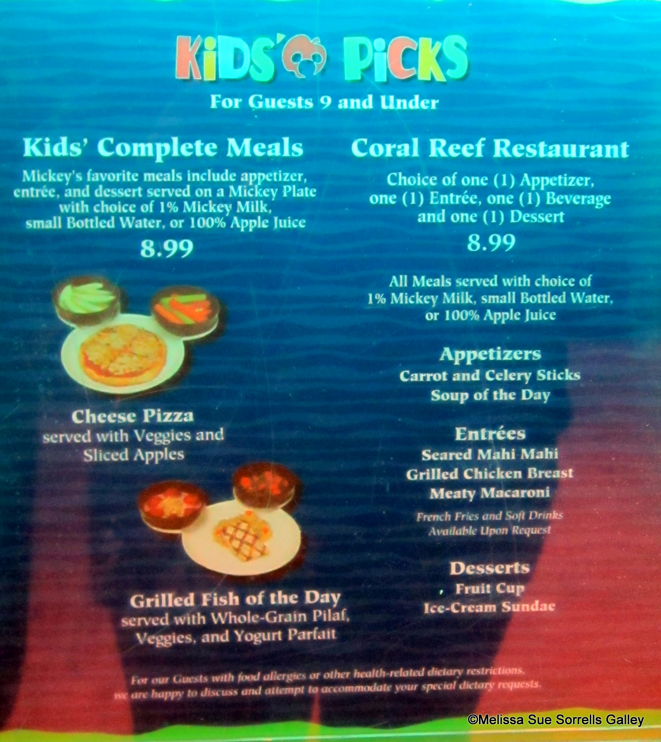 Guest Review: Coral Reef Restaurant | the disney food blog