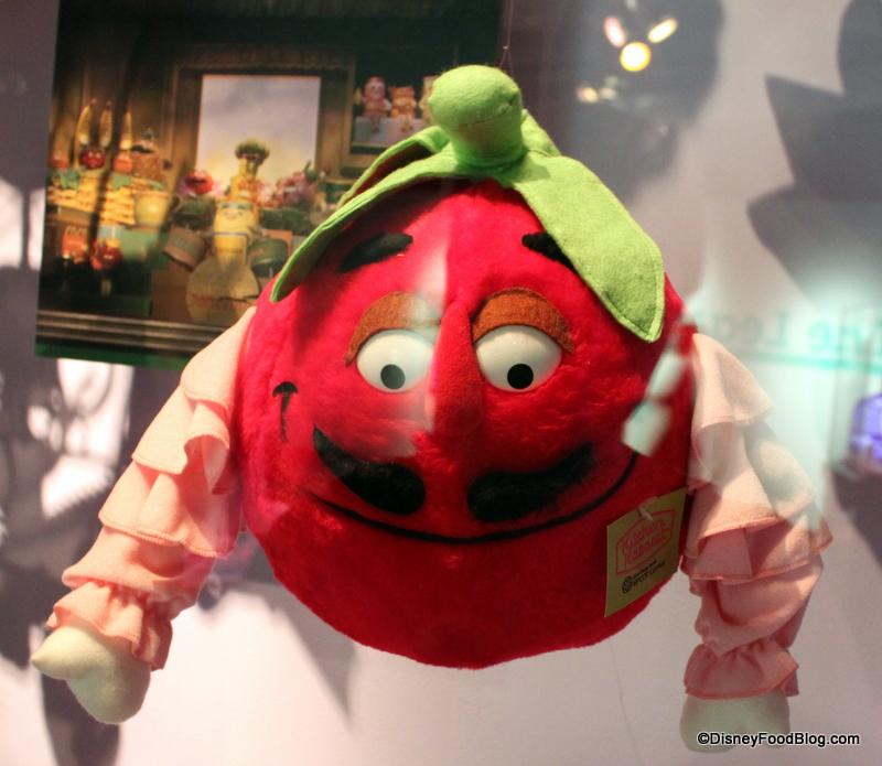 Disney Food History: Kitchen Kabaret Plush Toys on Display   the ...