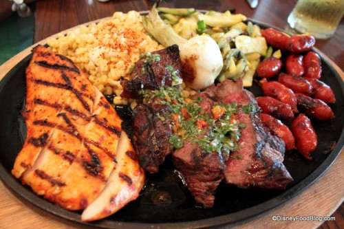 La Hacienda Parrillada - Sirloin, Chicken, Chorizo and Veggies