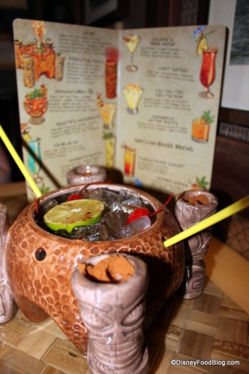 Uh Oa! Drink at Trader Sam's