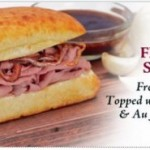 French Dip Sandwich at Earl of Sandwich for Limited Time