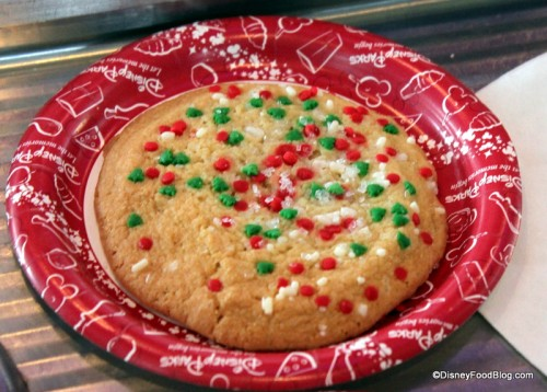 Holiday sugar cookie for ice cream sandwiches