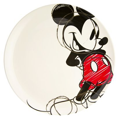 Mickey Mouse Plate  sc 1 st  Disney Food Blog & New Disney Tableware at Target \u2014 For Fans of All Ages!   the disney ...
