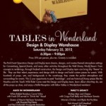 Tables in Wonderland February 2012 Event