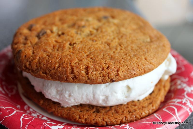 ... Dining Tip: Customized Ice Cream Sandwiches | the disney food blog