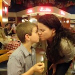 """A Valentine's Day """"Family Date"""" at Disney's Soda Fountain"""