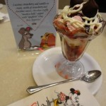 """Spaghetti"" Sundae at Disney's Soda Fountain!"