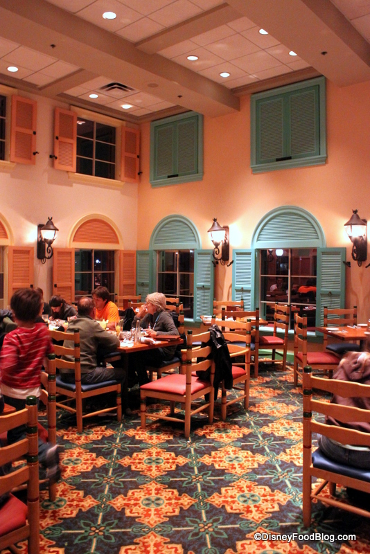 Review Shutters Restaurant At Disney S Caribbean Beach