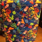 More Fat-Free Fun! Disneyland Food Graphic Suitcase Now Available
