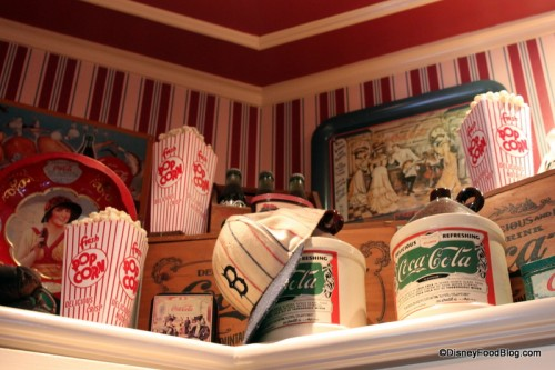 Atmosphere Details at Casey's Corner