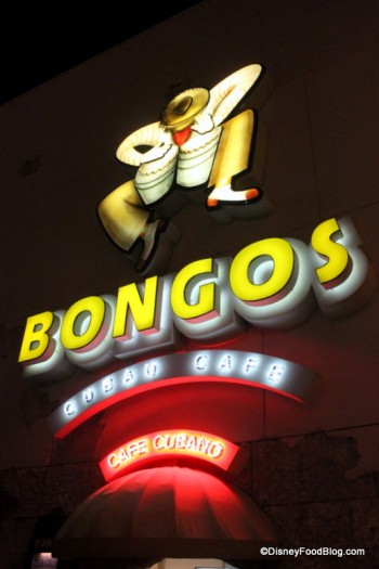 Bongos Sign