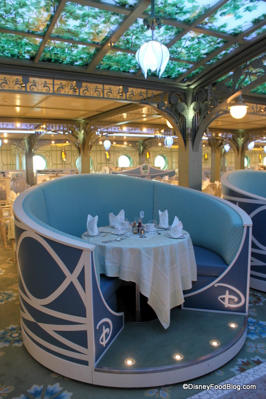 Review Disney Cruise Enchanted Garden Breakfast Buffet