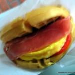 New! Breakfast Waffle Sandwich at Sleepy Hollow