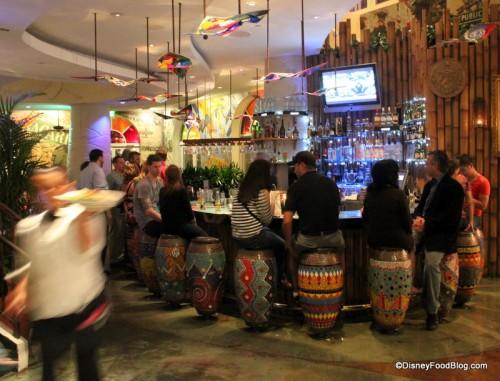 First Bar Area