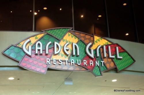 Disney World's Garden Grill
