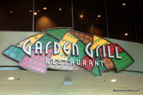 Disney World's Garden Grill