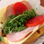 Review: Sleepy Hollow's Ham, Prosciutto, and Swiss Waffle Sandwich