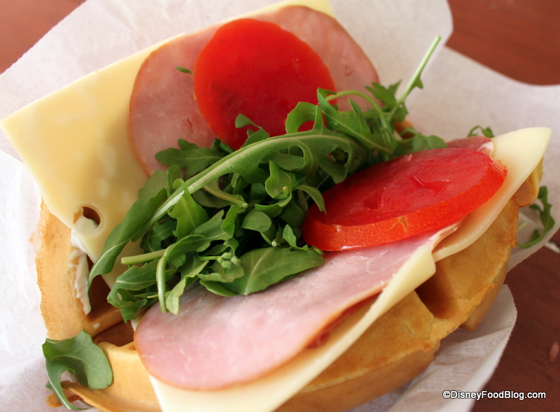 Gluten-free Lunch Waffles With Apples And Prosciutto Recipes ...
