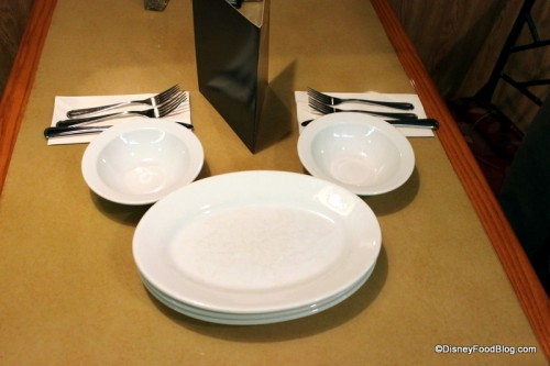 Table Setting & Review: Epcot\u0027s Garden Grill Restaurant | the disney food blog