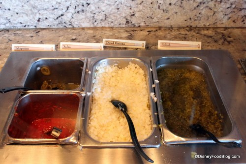 Toppings at Casey's Corner