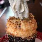 Review: White Chocolate Elephant Cupcake at Animal Kingdom