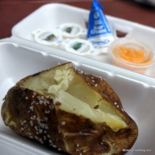 Baked Potato At Liberty Square Market