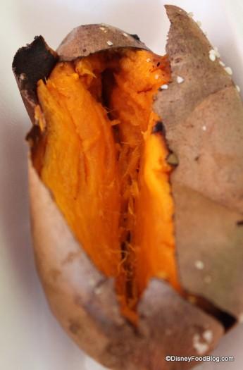 Inside of Sweet Potato