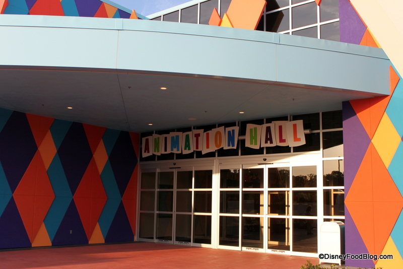Art Of Animation Entrance