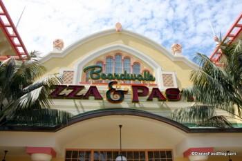 Boardwalk Pizza Amp Pasta The Disney Food Blog