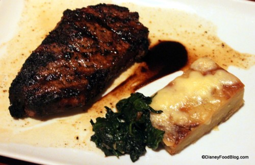 Canadian Prime New York Strip with Potato Pave