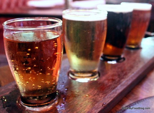 Choose Your Own Beer Flight of Warsteiner, Magners, Kilkenny, and Smithwicks at Raglan Road!