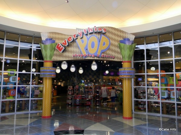 Everything Pop Food Court at Pop Century