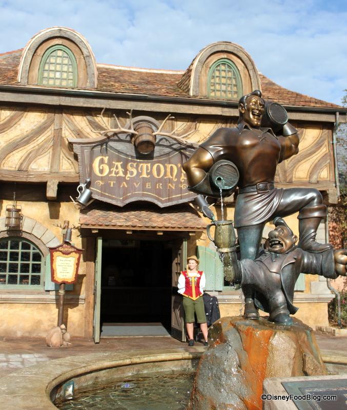 Gaston's Tavern | the disney food blog