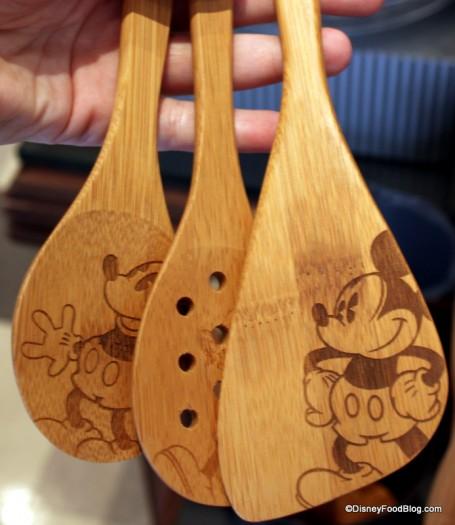 Delightful Mickey Mouse Utensils