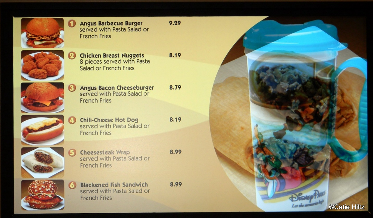 All Star Music Food Court Menu
