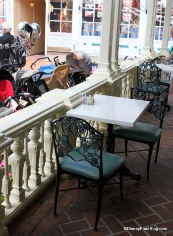 Patio Table at Tony's