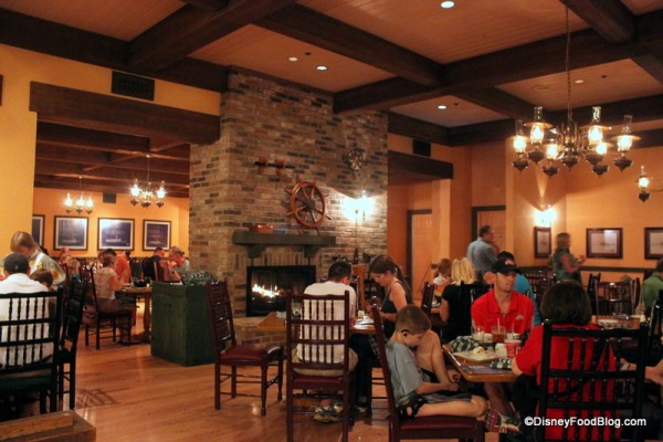 Review Boatwright S Dining Hall At Port Orleans Riverside