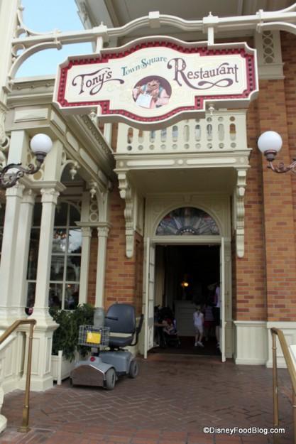 Tony's Entrance
